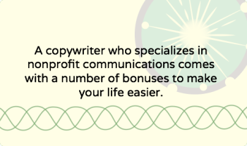 The best nonprofit copywriters