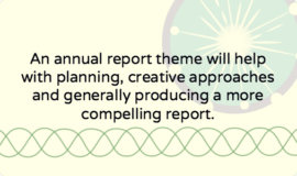 Annual report theme: 6ix reasons your nonprofit should use one
