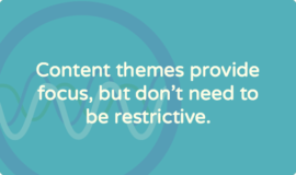 Content themes: should you use them for your nonprofit's blog?
