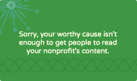 Nobody wants to read your nonprofit's content [book review]