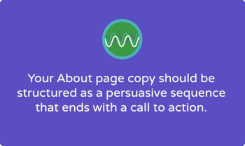 How to write a nonprofit About page: 7-step copywriting formula