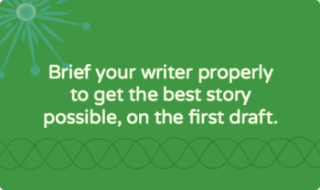 How to assign a writing task: stories and other editorial content