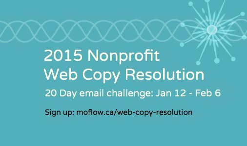 Nonprofit Web Copy Resolution challenge