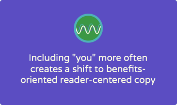 Does your nonprofit's copy pass the YOU ratio test?