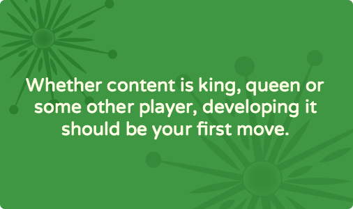 Five reasons why designers and developers want you to put content first