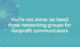 Online communities for marketing and communications in nonprofit organizations