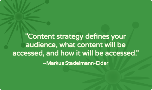 Starting with content strategy to ensure successful website development [case study]