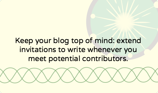 How to find writers for your blog