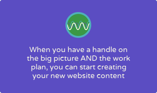 Tackle your nonprofit's new website content in three stages