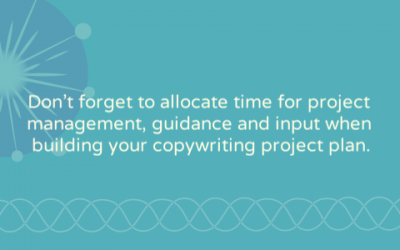 Building a copywriting project timeline: three steps you can't forget
