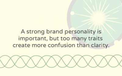 Narrowing down your nonprofit's brand personality